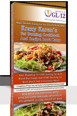 Krazy Karen's Fat Burning Cook Book