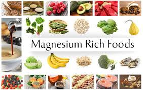 Mg rich foods