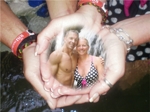 Shaun and Karen in Jamaica
