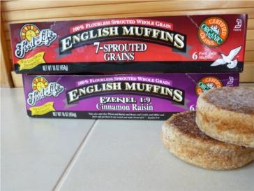 Ezekiel muffins