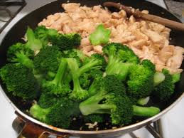 protein intake broccoli and chicken