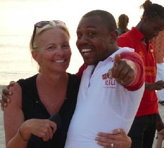 Karen Hadsall in Jamaica