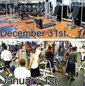 New Year's at the Gym