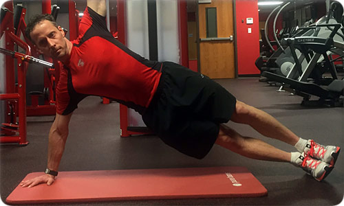 Straight-Arm Side Plank or Elevated Side Plank
