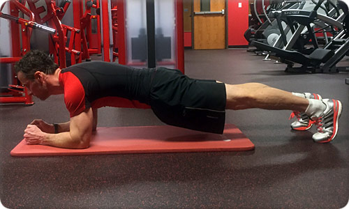 Forearm Plank or Low Plank