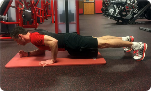 Uneven Plank
