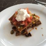 Reduce Belly Fat With This High Protein, High Fiber Mexican Lasagna